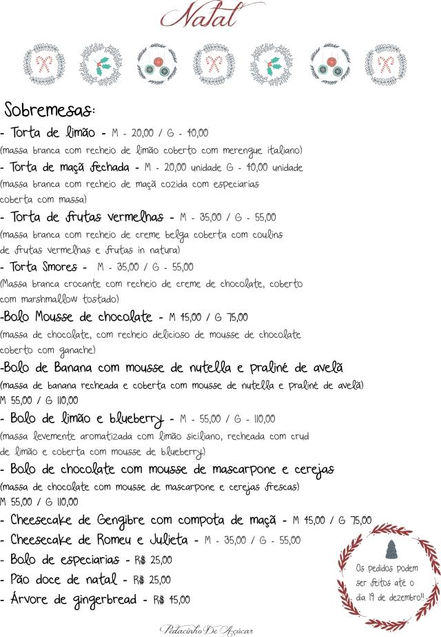 natal sobremesas 2014